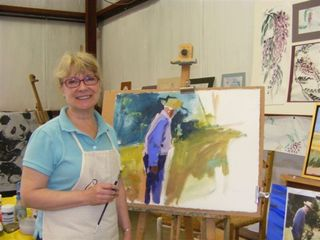 Arts -art instructor deborah fowler greenwood